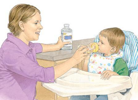 vomiting of bile in a child with fever