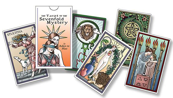 Mystery is the sacrament of the layout of tarot cards