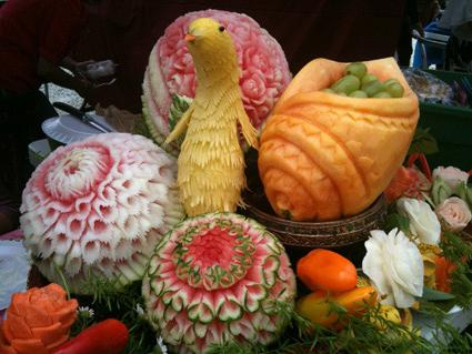 Edible carving at home