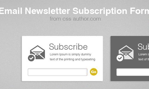 subscription to news of the site