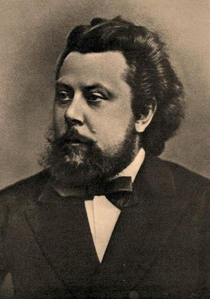"Composer M. P. Mussorgsky, ""The Old Castle""."