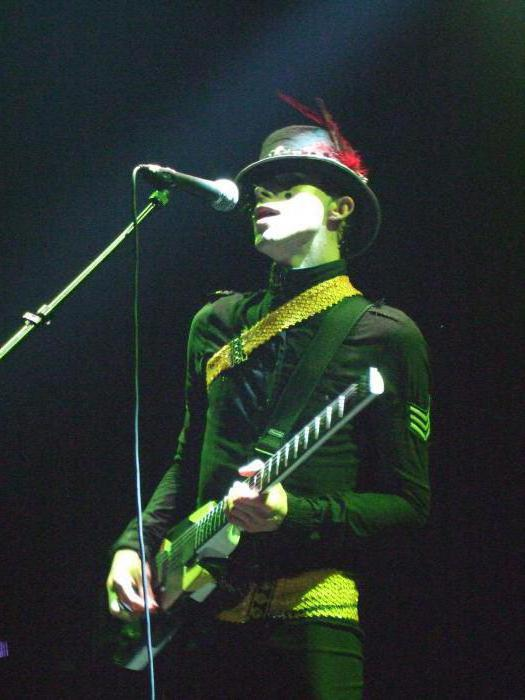 Chris Corner is the author of the solo music project IAMX