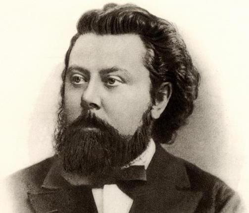 list of Mussorgsky works