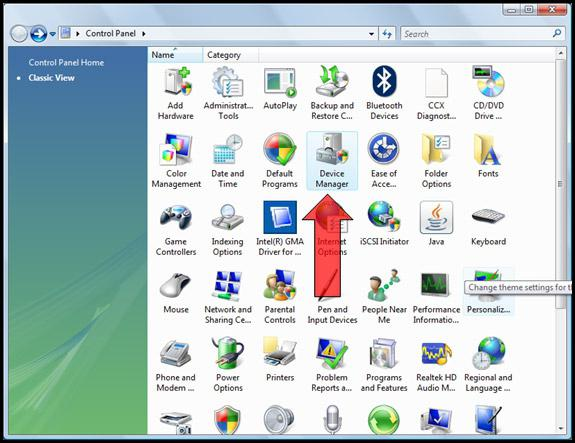 device manager windows 8