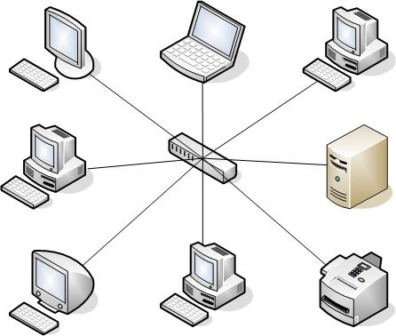 Computer networks: basic characteristics, classification and principles of organization