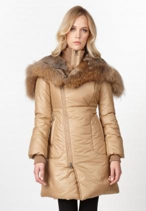 down jacket with fur