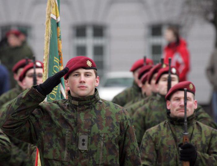 army of latvia history