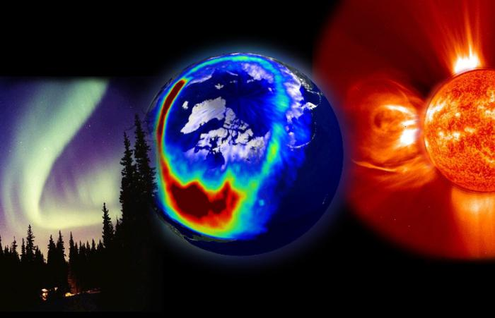 The geomagnetic storm is     The effect of magnetic storms on people